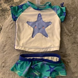 Other - Starfish tankini style bathing suit